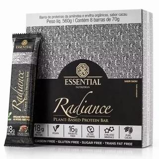 Radiance Protein Bar Vegan 8un-essential Nutrition-cacao+nib