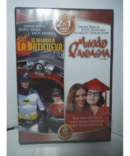 Batman El Regreso A La Baticueva Dvd Original Mundo Fantasma