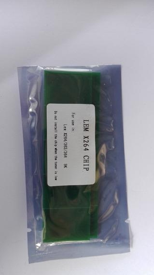 3 Chips Para Lexmark X264-x363-x364 Capacidad 9 Mil Pags
