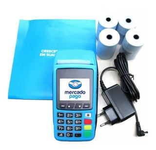 Maquininha De Cartão Tarjeta Chip E Wifi Point Imprime Papel