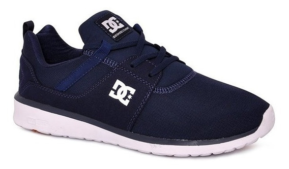Tênis Dc Shoes Heathrow Azul Marinho