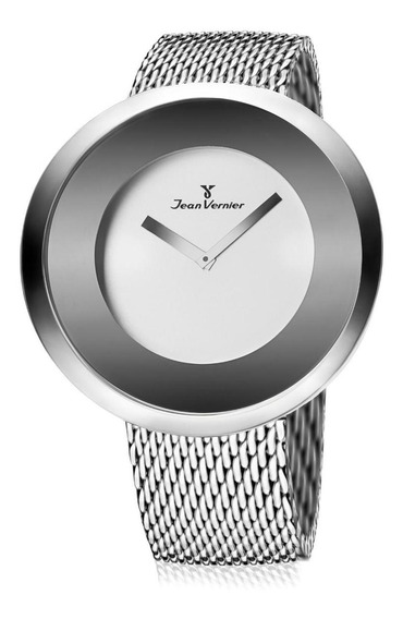 Relógio Pulso Jean Vernier Aço Inoxidável Feminino Jv00080a