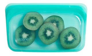 Bolsa Stasher Snack Silicona Aqua