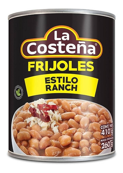 Frijoles La Costeña Ranch 410grs.