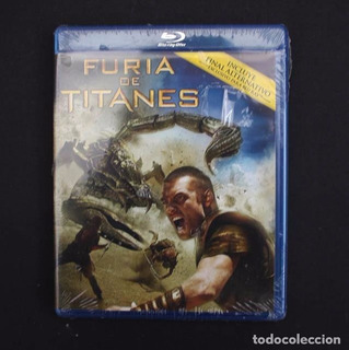 Furia De Titanes Blu Ray Nuevo Original Sellado