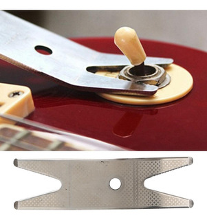 26pcs Guitarra Reparo Kits Metal Aço Inoxidável Scale Rég