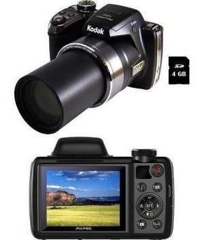 Camera Fotografica Kodak Pix Pro Az521 Faz Filmes Em Fullhd