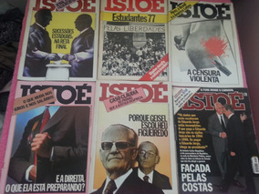 Revistas Istoé Antigas
