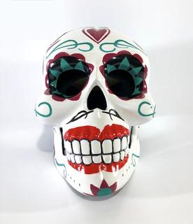 Casco Cráneo Mexicano Vestuario Dama