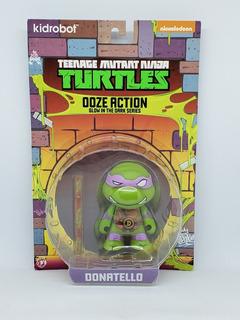 Tortugas Ninja Kidrobot Ooze Action Nickelodeon - Donatello