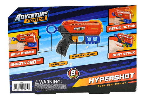 Juguete Adventure Force Hypershot Tipo Nerf