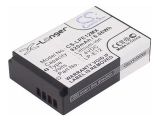Bateria Pila Canon Lpe12