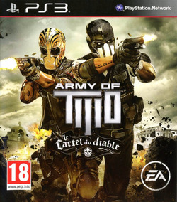 Army Of Two The Devils Cartel - Ps3 Midia Fisica - Lacrado