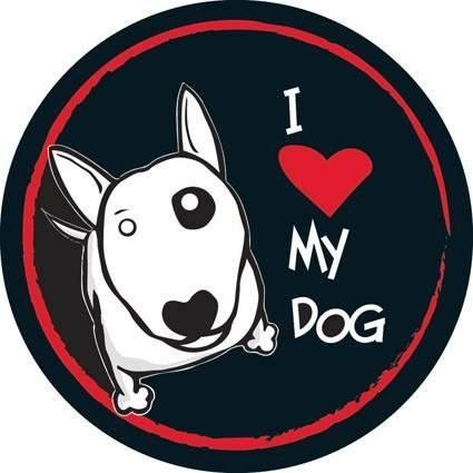 Capa De Estepe Love Dog Estampado