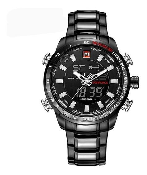 Relógio Naviforce Racer Luxo Masculino Nf9093