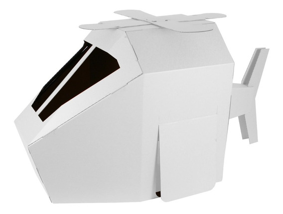 Helicóptero De Cartón Mamut Cardboard Toys