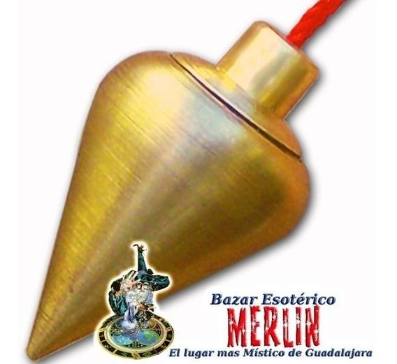 Péndulo Con Testigo Profesional - Para Buscar Oro Y Metales