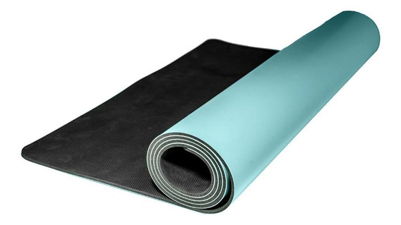 Tapete Yoga Caucho Premium 5mm Grosor Ultra Denso Pilates Ti