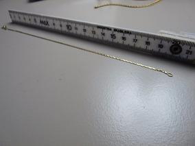 Pulseira Maciça De Ouro 750, 18k 20.6 Cm