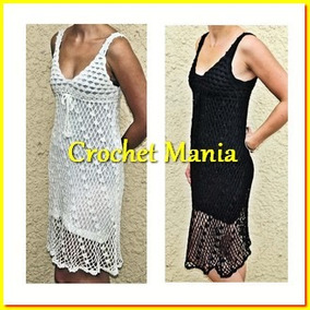 Vestidos tejidos a crochet para mujer