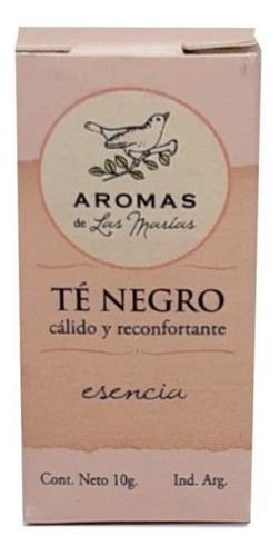 Esencia Aromatizante De Té Negro