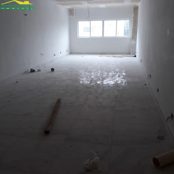 Sala Na Melhor Localização Comercial, Confira Na Imobiliária Em Praia Grande - Mp12135