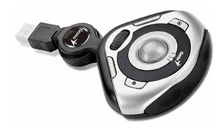 Mini Trackball Notebook Traveler 350 Mouse - Aj Hogar