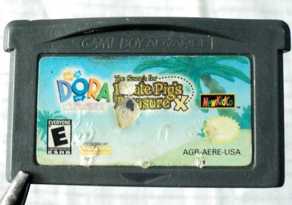 Dora The Explorer The Search For Pirate Pigs Treasure Gba