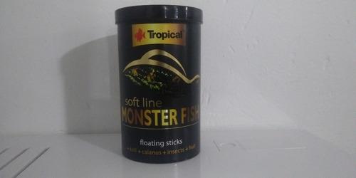 Imagen 1 de 2 de Tropical Alimento Soft Line Monster Fish 320g Peces Pecera