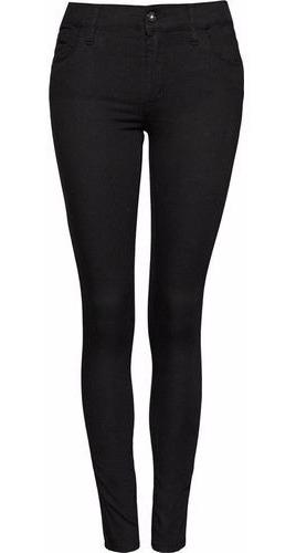Rosh Pantalon De Jean Modelo Moon Negro 30 Amplio