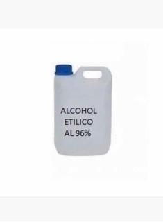 Alcohol Etílico 96% X5lts + Alcohol Gel 100 Ml C/dosificador