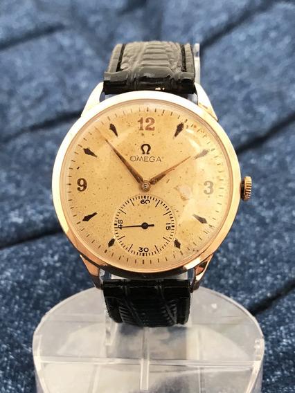 Relógio Omega Ouro 18k Maciço Gigante, 38mm - 13 Anos No Mercado Livre