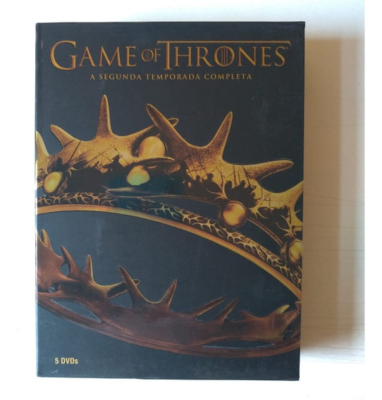Dvd Game Of Thrones - A Segunda Temporada Completa