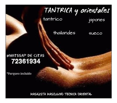 Masajes Tantricos Y Orientales -masajista Masculino