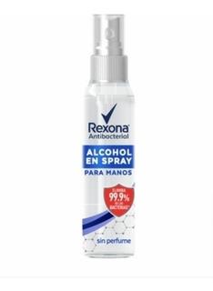 Alcohol En Gel Spray Antibacterial Sin Perfume 125 M