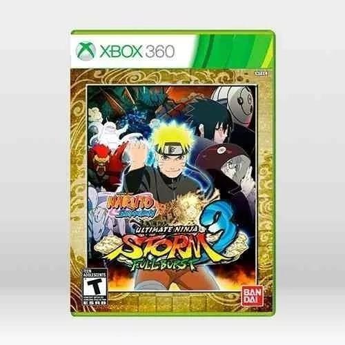 Jogo Naruto Ult. Ninja Storm 3 Full Burst Xbox 360 Original