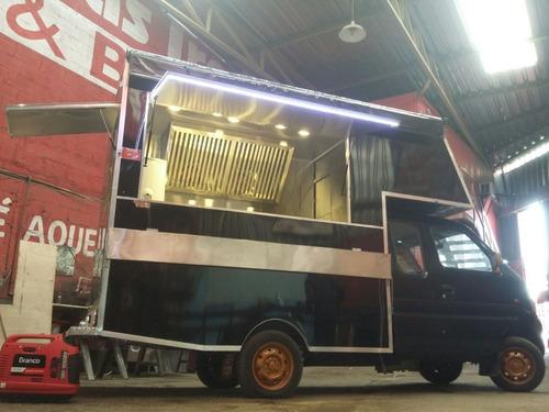 Food Truck  Treilher (montagem Sem O Veiculo)