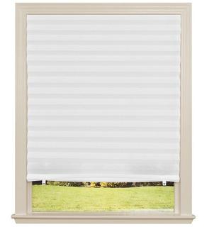 Persiana Plisada Blanca 91x182 Cm Para Interior