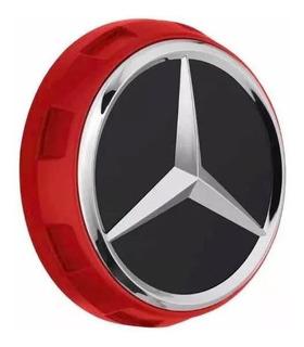 1 Tapa Centro Llanta Insignia Cubo Mercedes Benz Amg 75mm