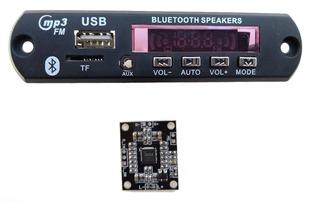 Modulo Bluetooth Mp3 Usb 12v Y Amplificador 12v.