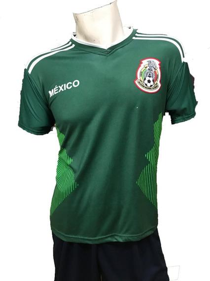 Playera Selección Mexicana Marca Pemol Unisex
