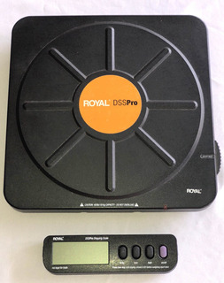 Peso Electronico Inalámbrico Royal Dss Pro 181kg