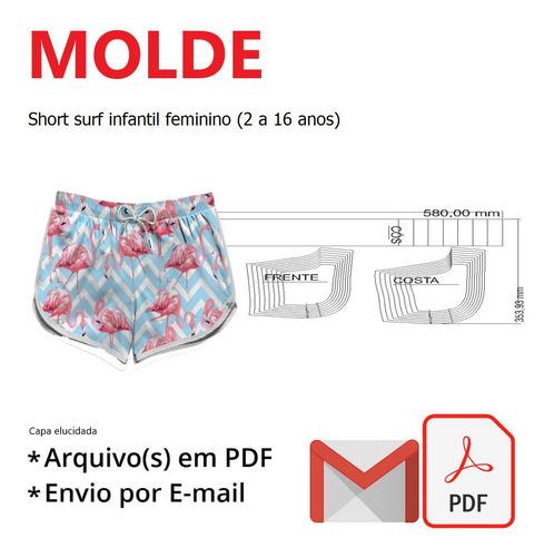Short Surf Infantil Feminino (2 A 16)