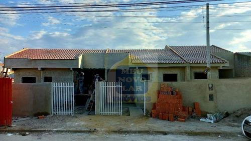 Casa Com 2 Dormitórios À Venda, 44 M² Por R$ 190.000,00 - Campo De Santana - Curitiba/pr - Ca0458