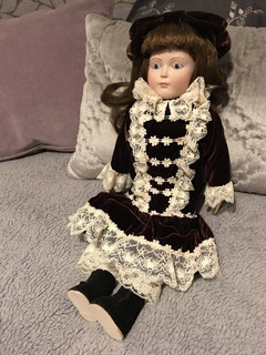 Muñeca Franklin Heirloom Dolls Emily, Envío Gratis