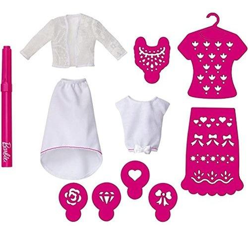 Imagen 1 de 4 de Paquete De Accesorios De Extension Del Diseñador Barbie Ai