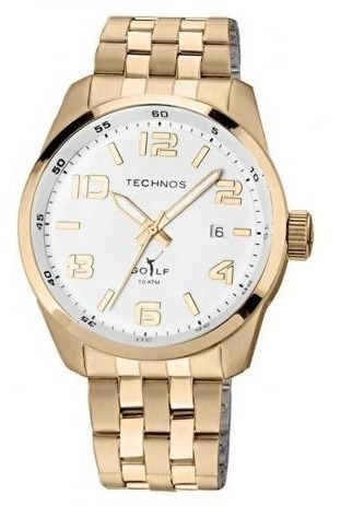 Relógio Technos Masculino Classic Golf 2315gc/4b
