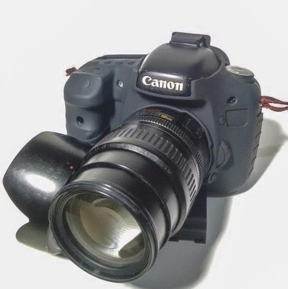 Kit Canon 7d + Grip, 24mm F2.8, 28-105mm, 6 Bat. Otg Android