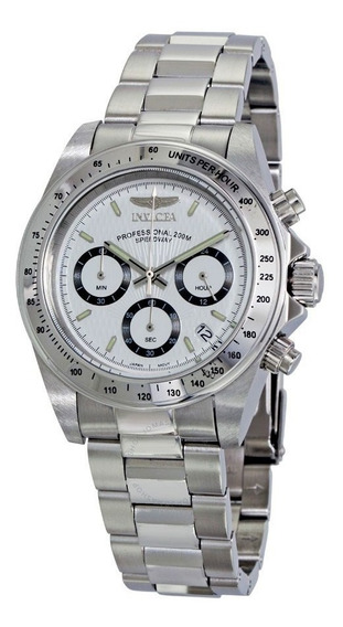 Reloj Invicta 9211 Speedway Collection Plateado/blanco
