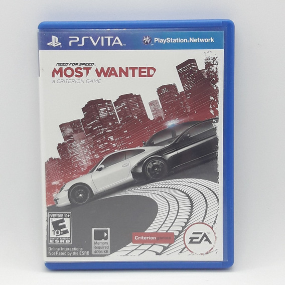 Need For Speed Most Wanted Ps Vita Midia Fisica Jogo Game